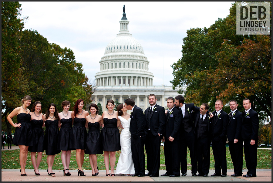 Katie Jake S Dc Wedding The Fairmont Hotel Washington Deb Lindsey Photography